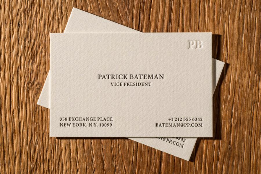 letterpress_visitenkarte